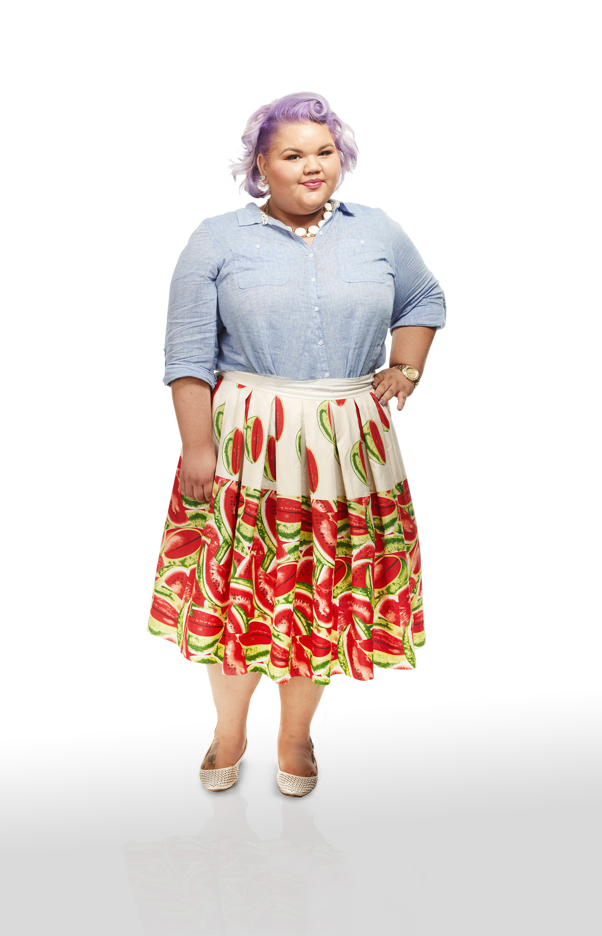 Project Runway's first plus size fashion designer