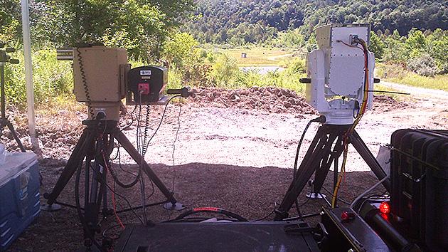 Boeing drone killing laser