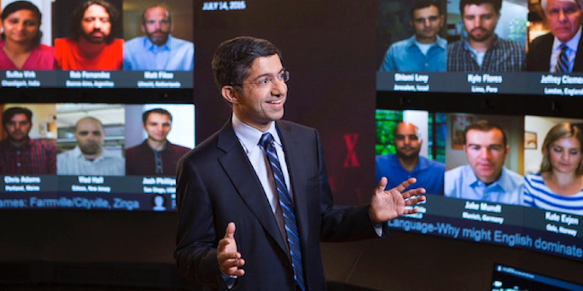 Harvard Business School really has created the classroom of the future