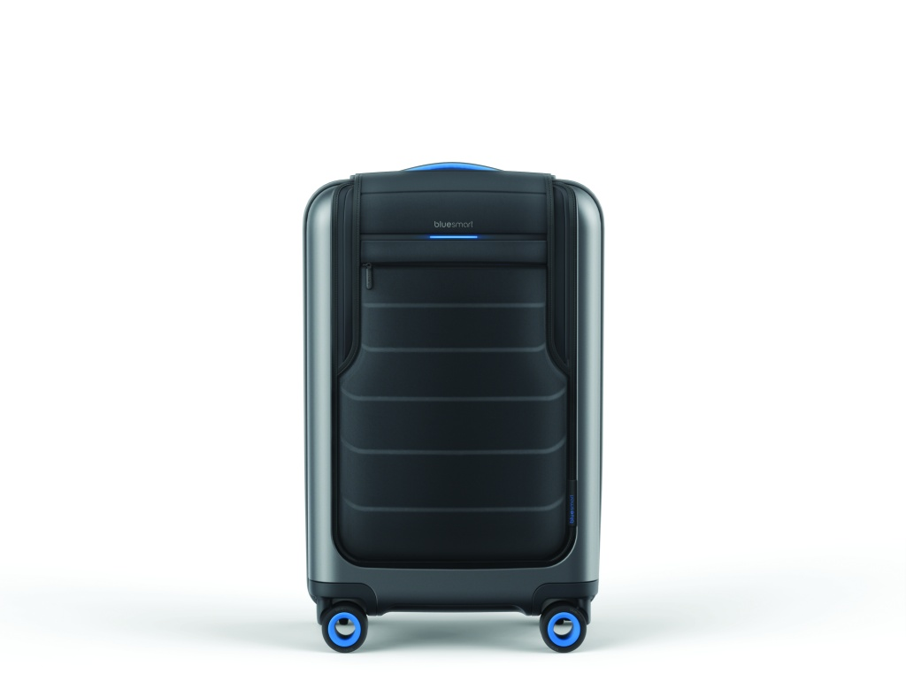 Bluesmart Luggage's connected bag