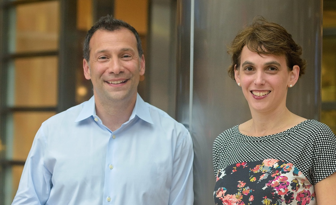 Lazarus Vekiarides and Ellen Rubin, co-founders of ClearSky