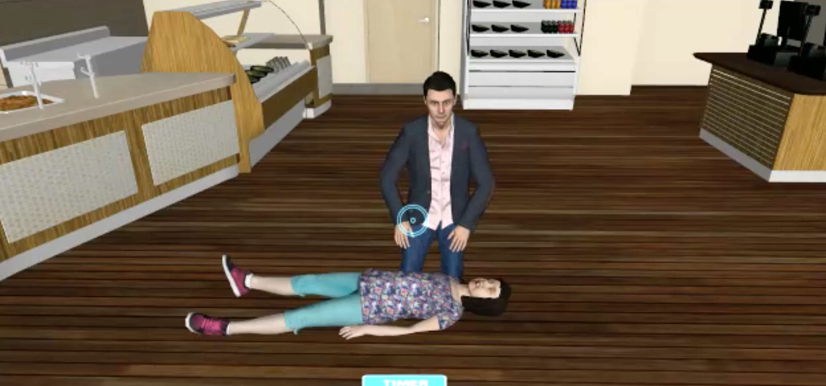 Hospitals and soon consumers will be able to use mobile VR to learn CPR.