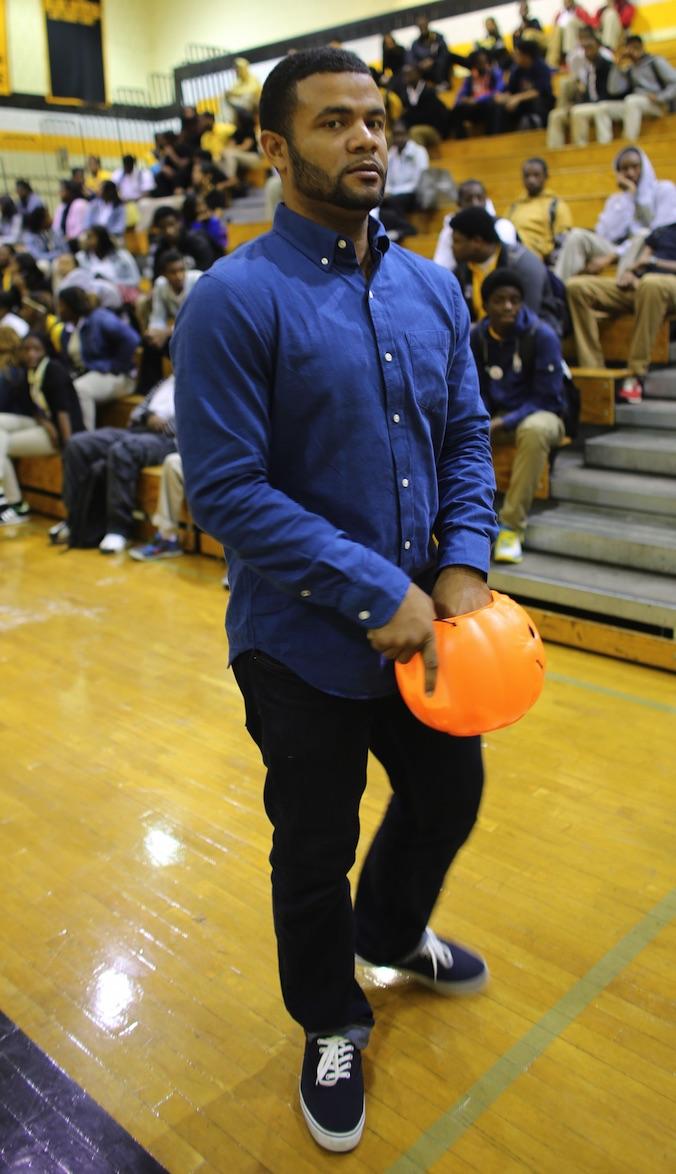 Malcolm X Shabazz High School's head Dream Director, Divine Bradley