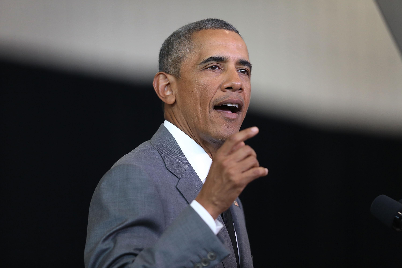 President Obama Speaks In New Orleans Ahead Of 10th Anniversary Of Hurricane Katrina