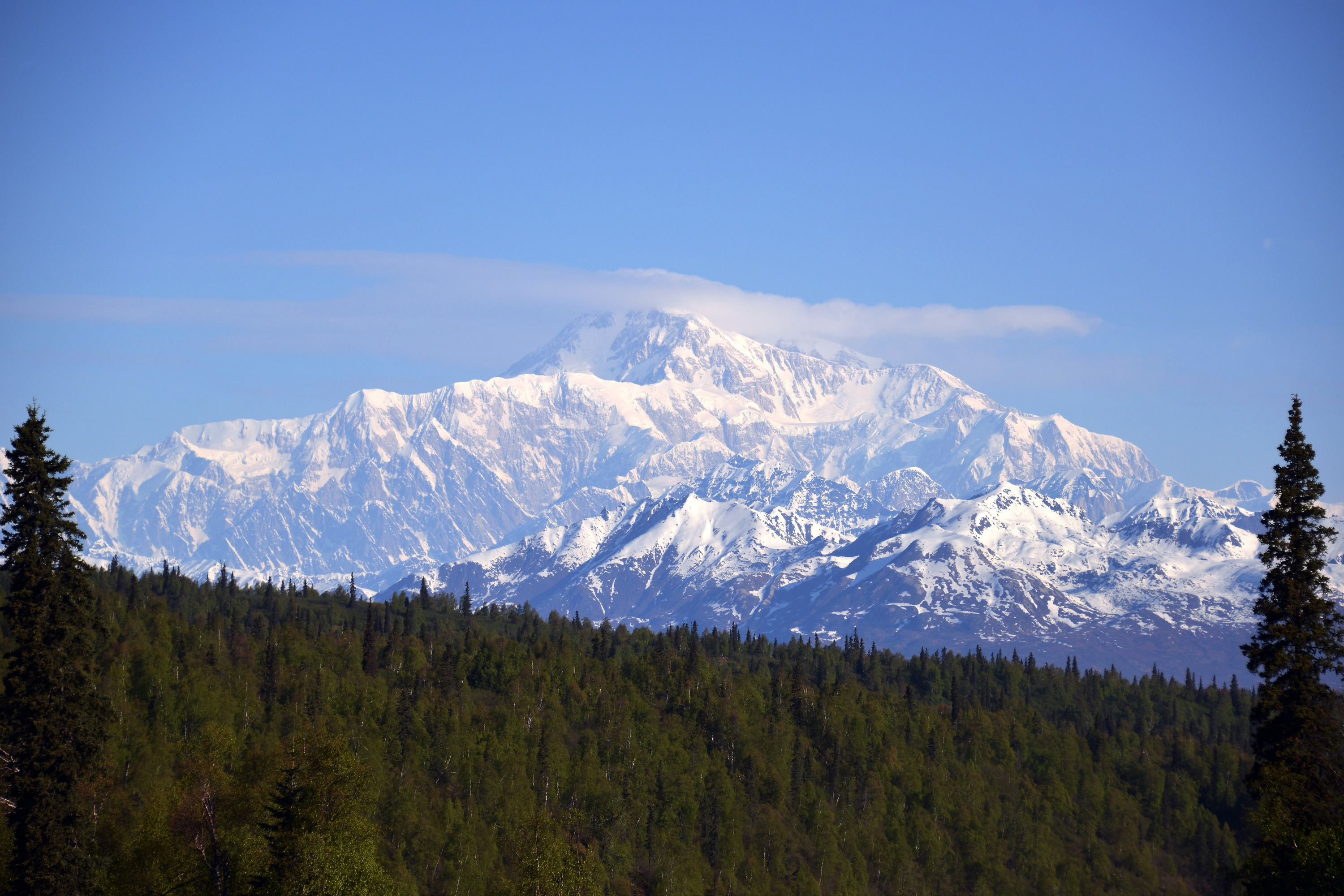 North America's Highest Peak Mt. McKinley, Denali National Park