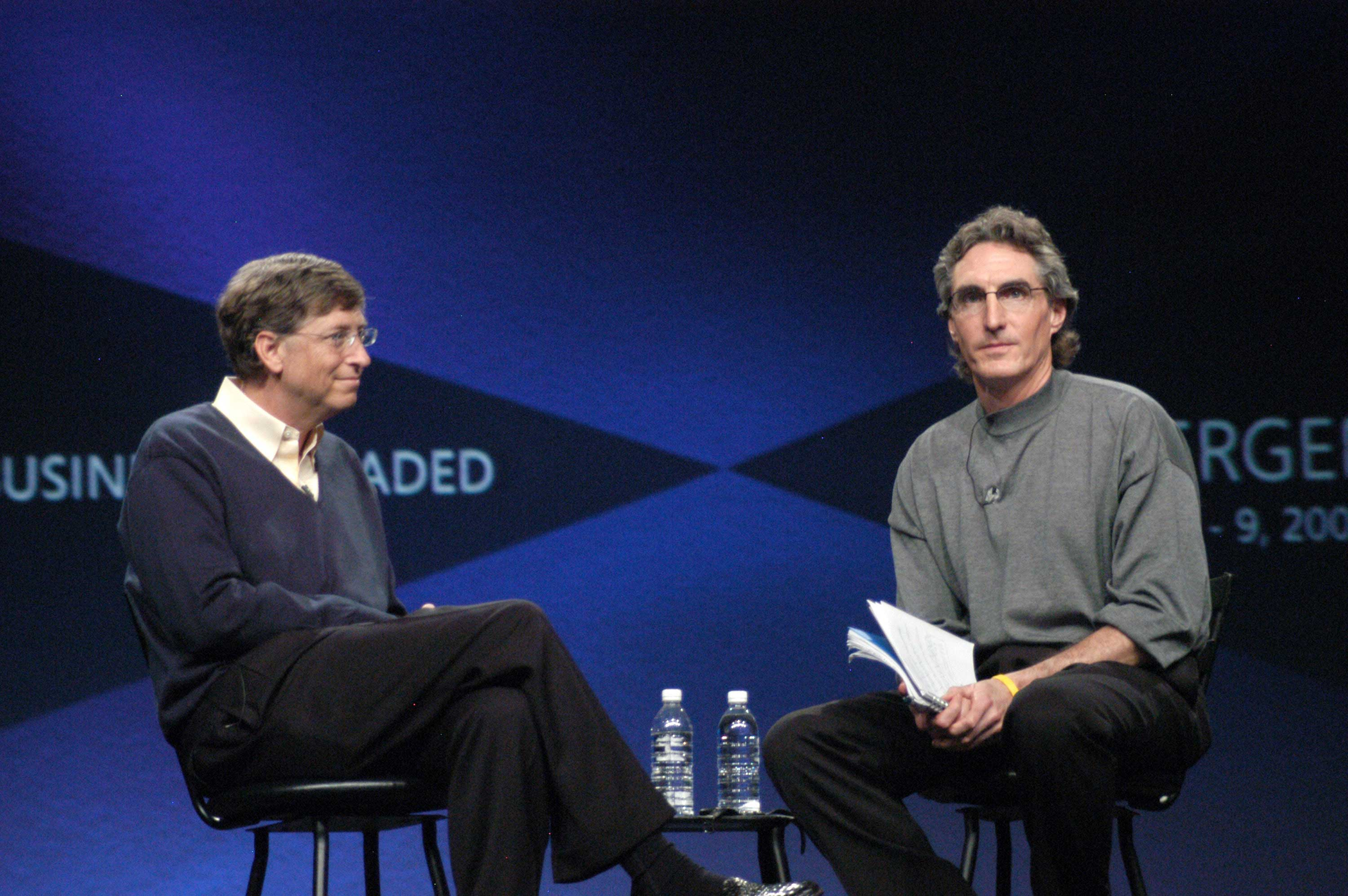 Microsoft Business Solutions Convergence 2005 with Bill Gates