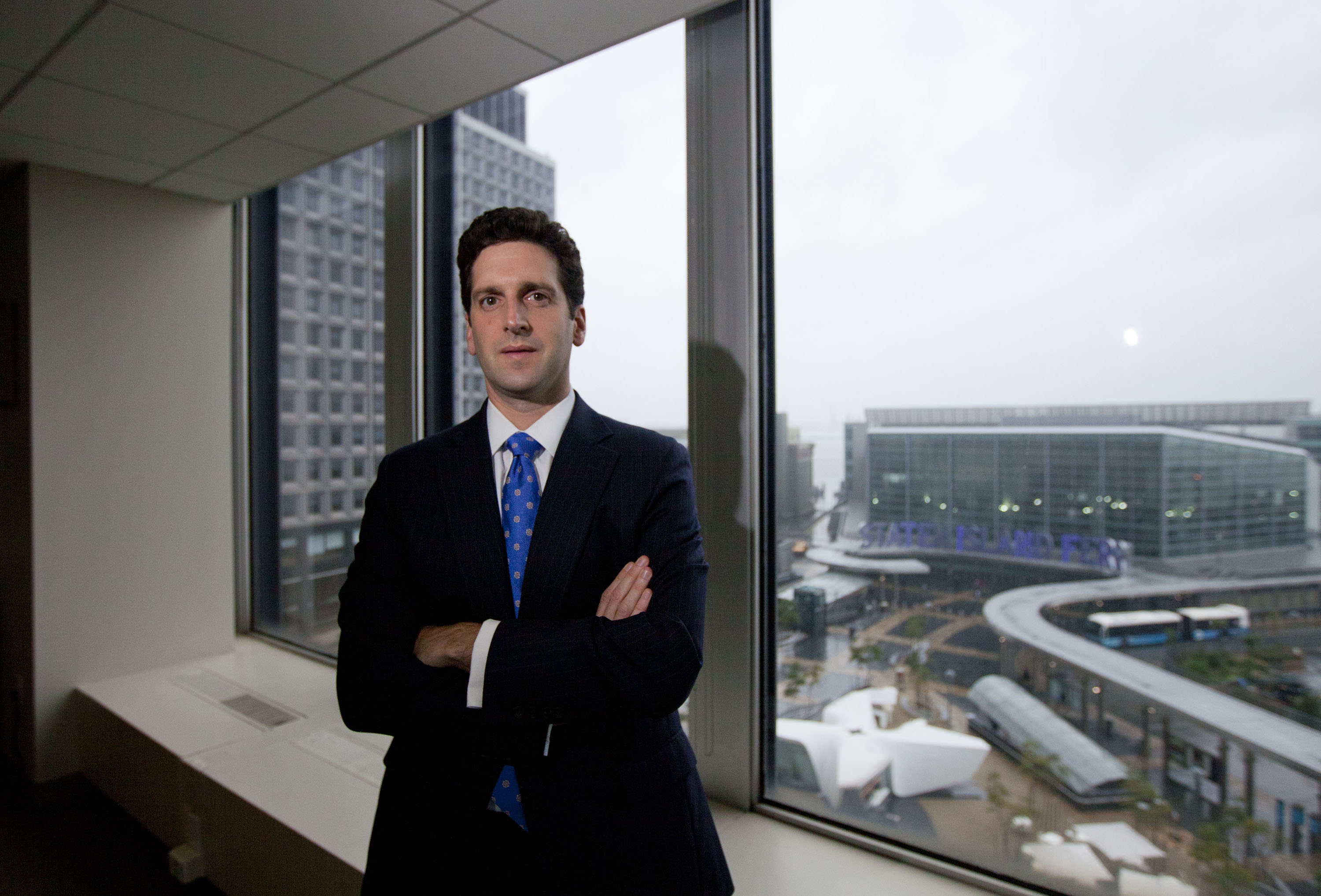 New York State Department Of Financial Services Superintendent Benjamin Lawsky Portraits