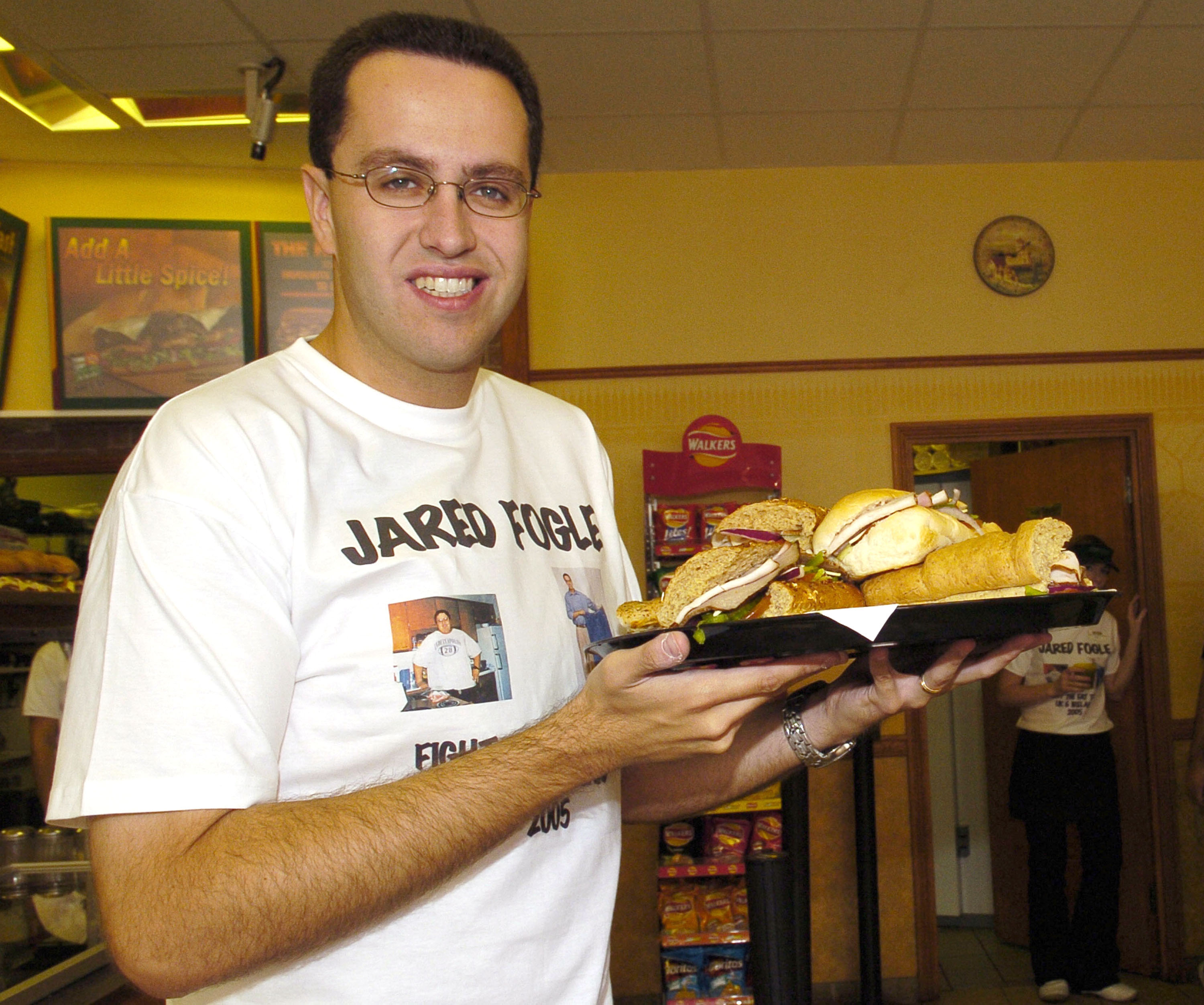 "Jared Fogle Launches ""Fight The Fat"" Campaign"