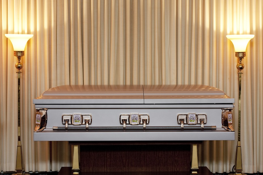 funeral coffin casket