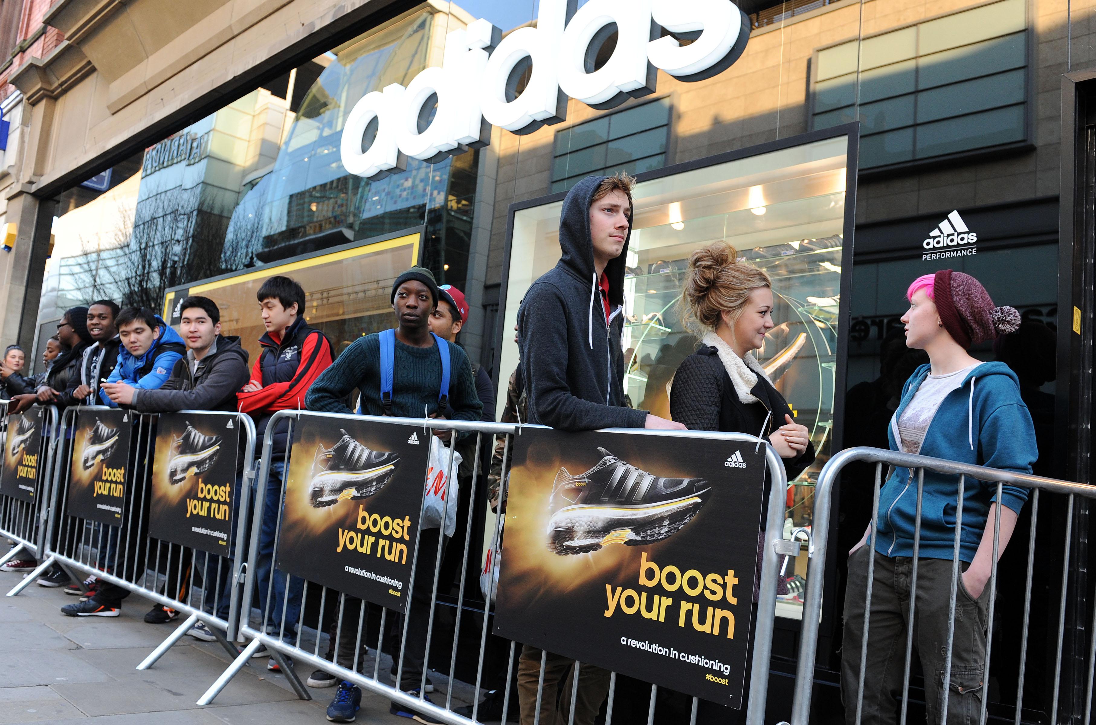 adidas boost Running Shoe Launch
