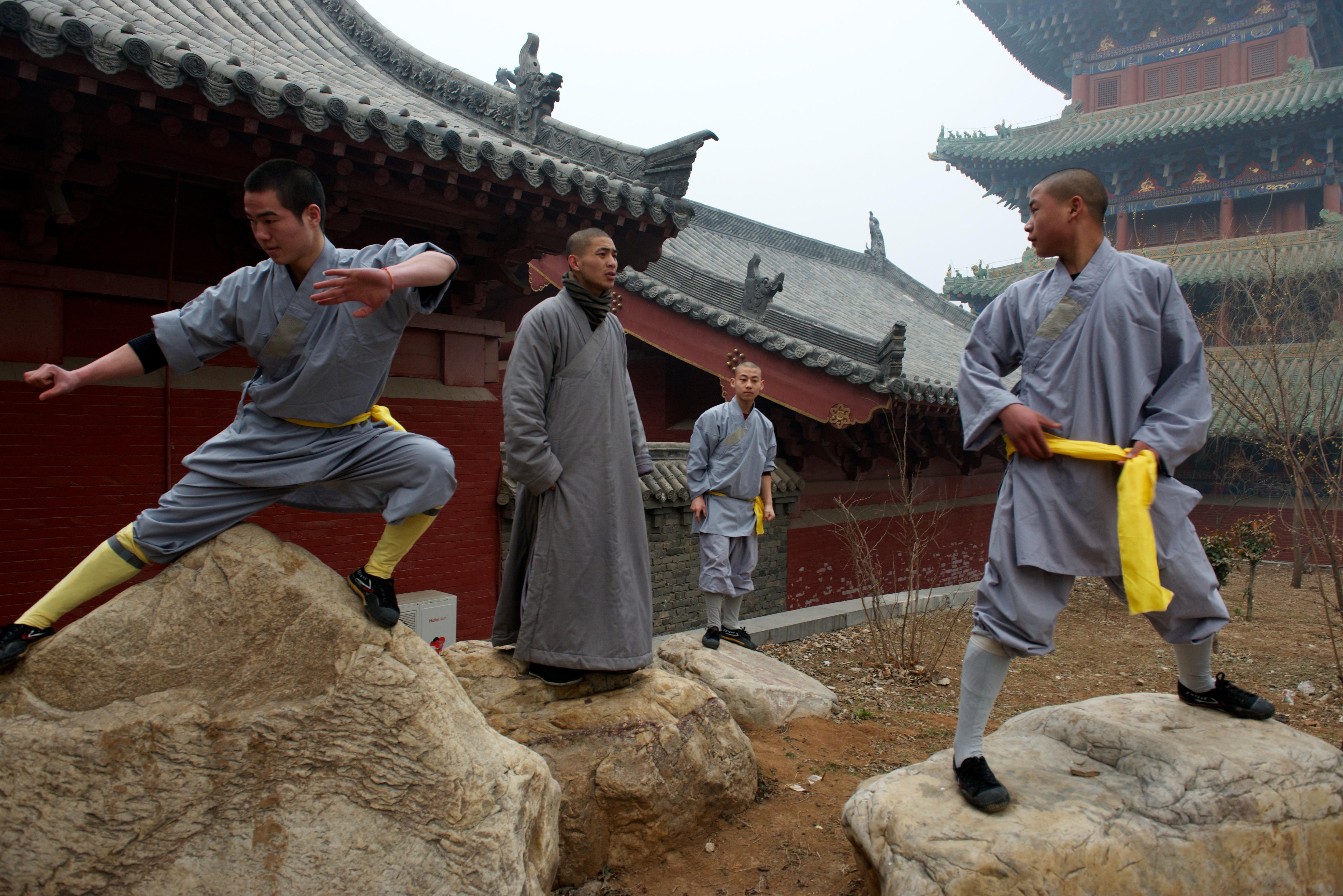 Shaolin Monastery or Shaolin Temple, a Cha?n Buddhist