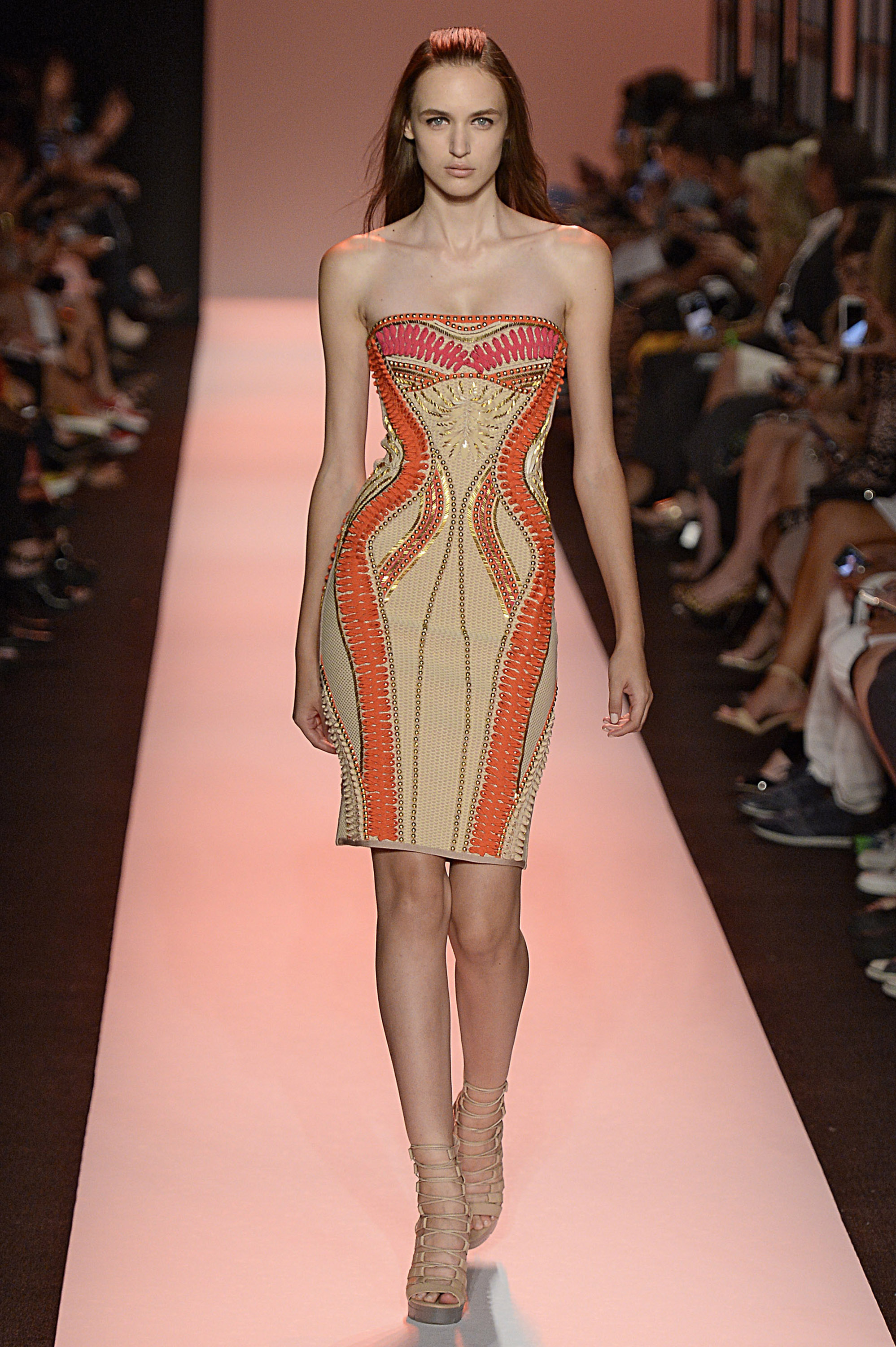 Herve Leger - Runway RTW - Spring 2015 - New York Fashion Week