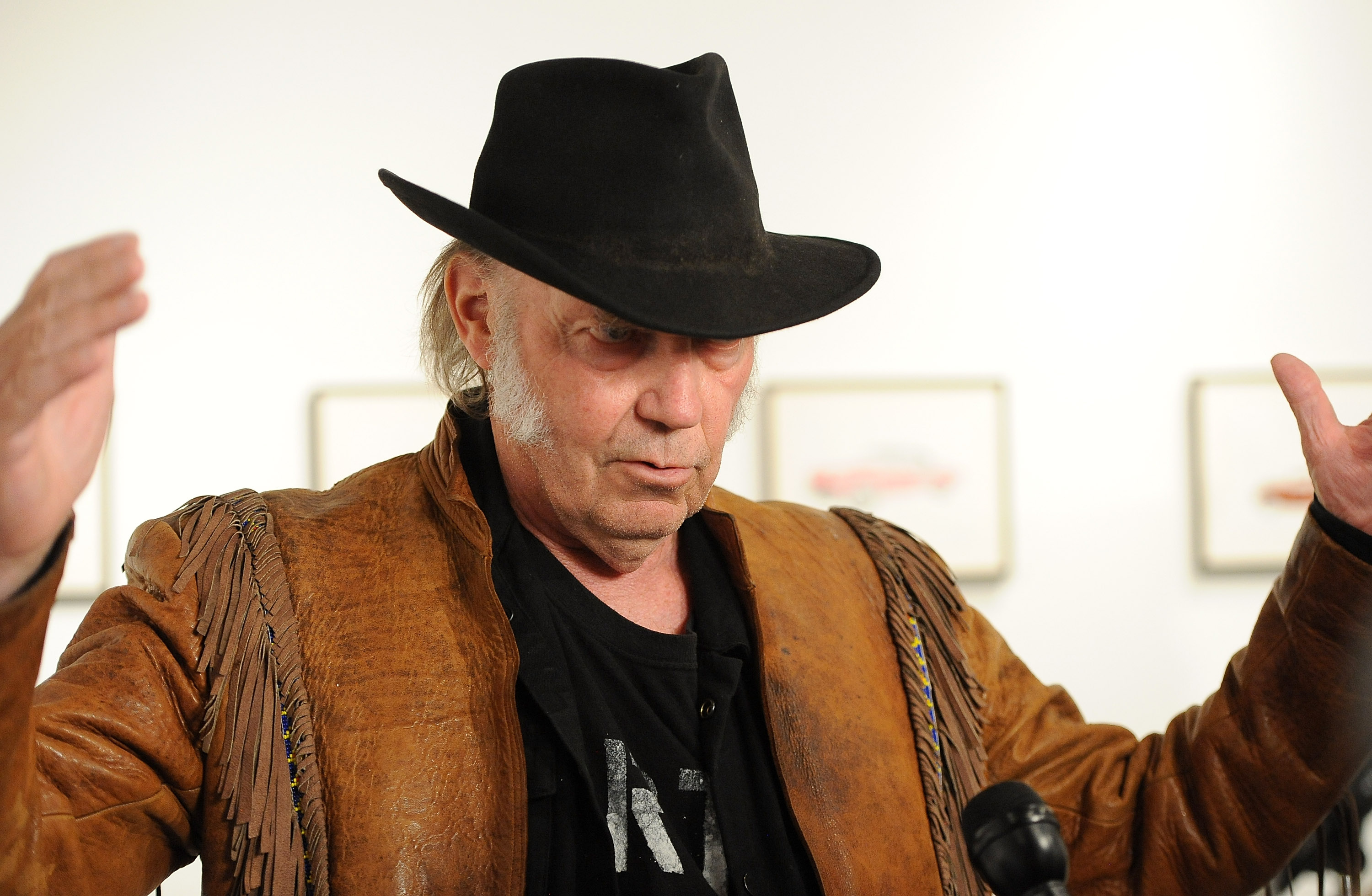 """Neil Young Opening Night Reception For """"Special Deluxe"""" Art Exhibition"""