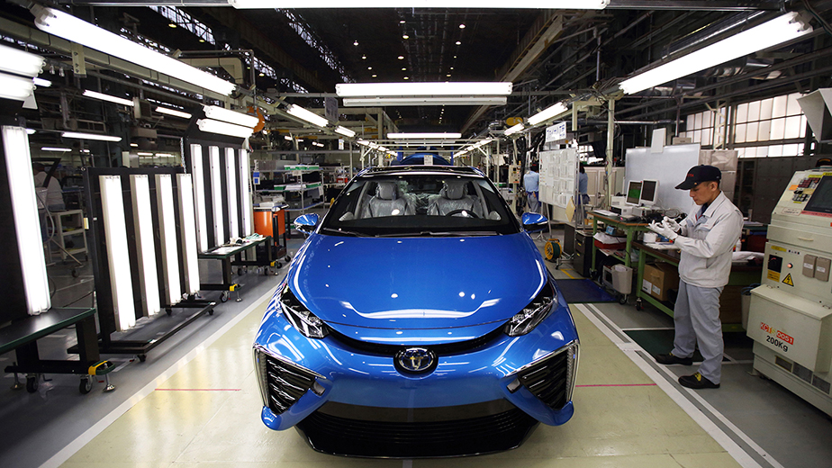 Toyota's plans to build a hydrogen-based society | Fortune