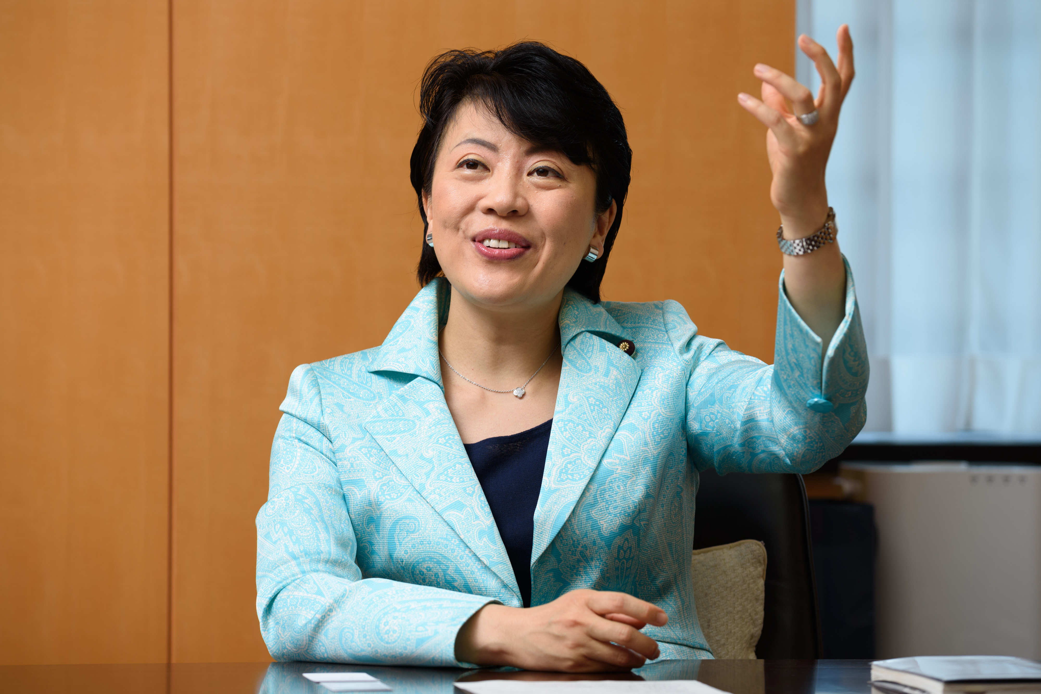 Japan's Minister In Charge Of Gender Reform Haruko Arimura Interview