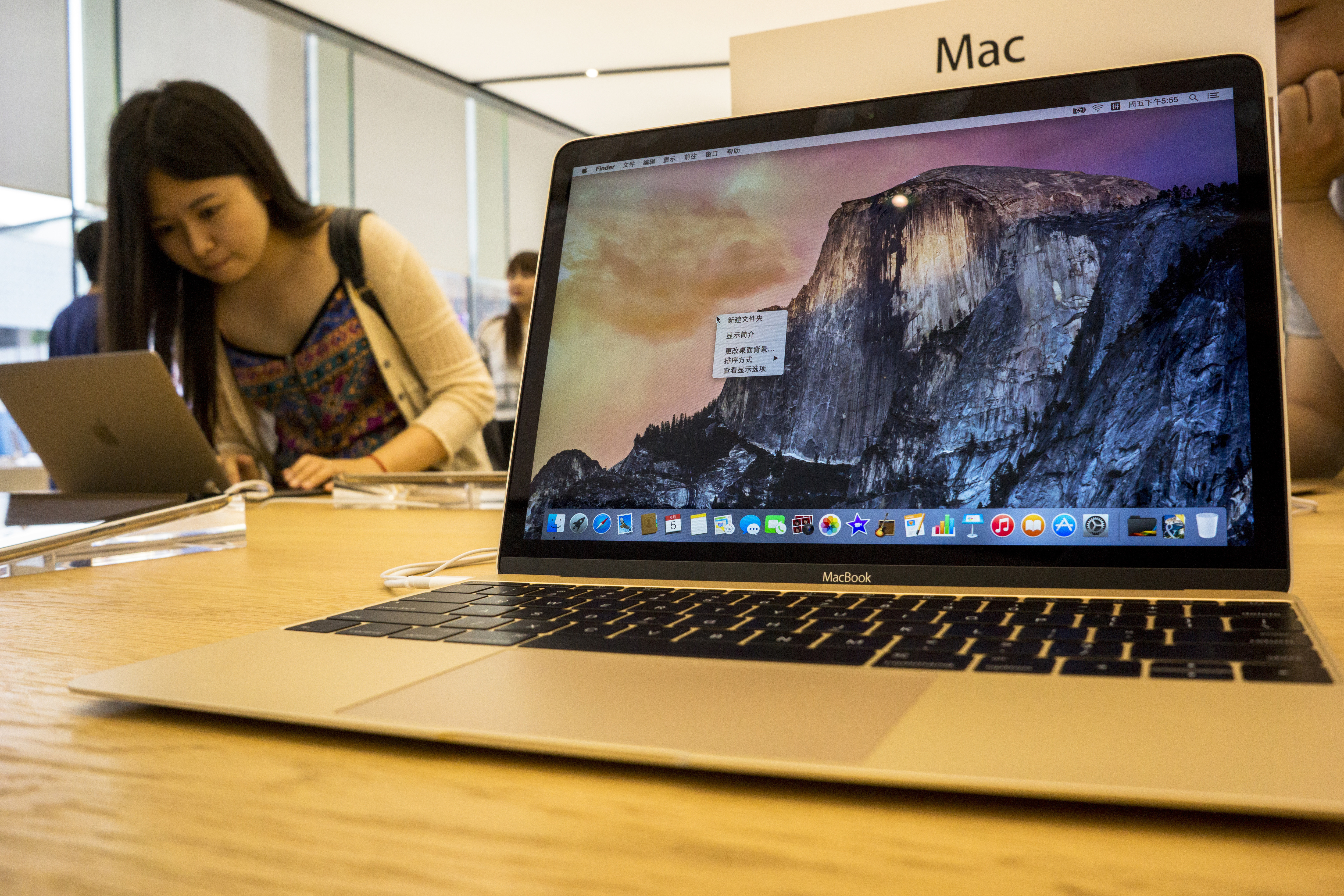 Chinese customers are experiencing and choosing Apple's