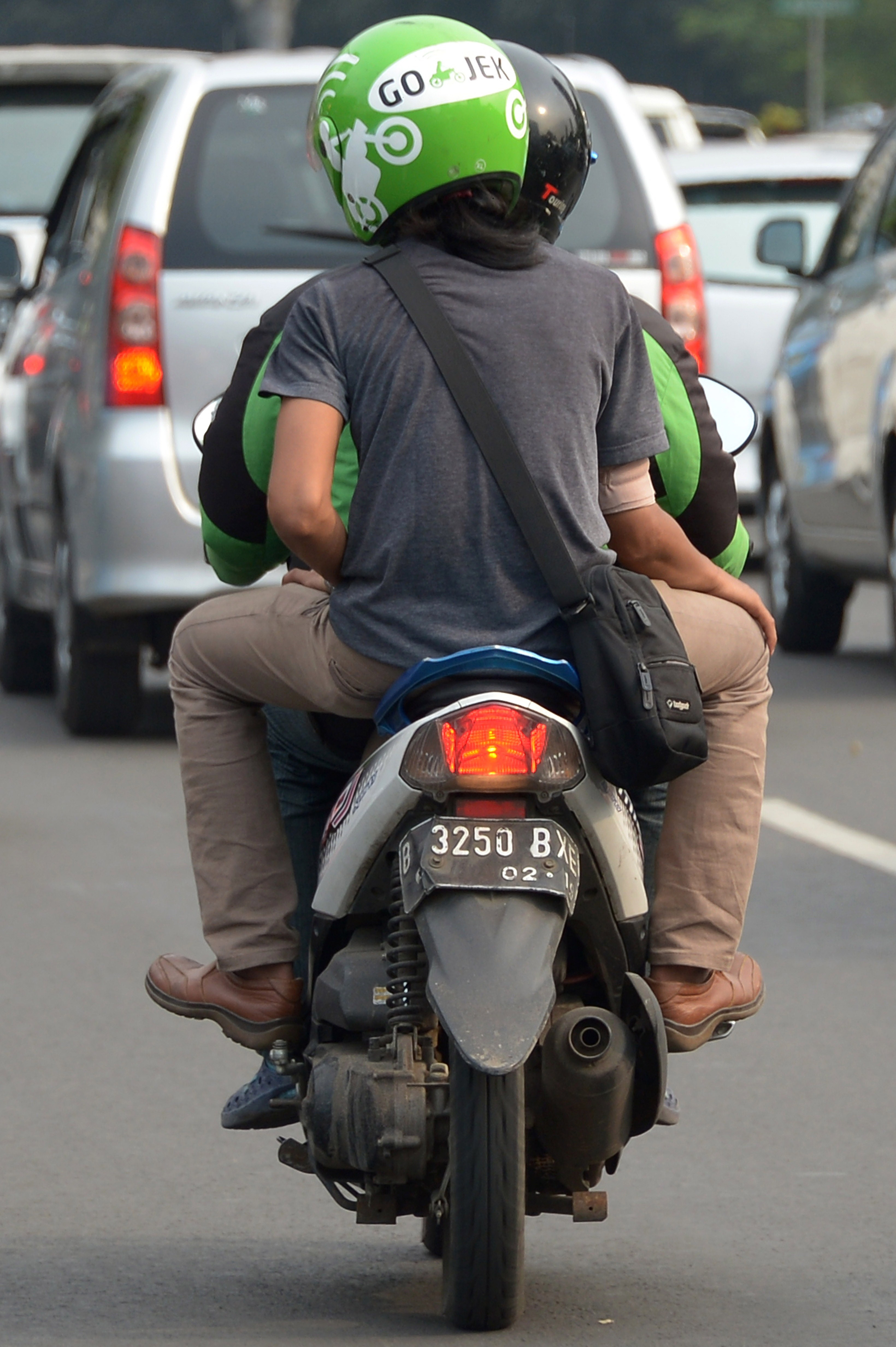 INDONESIA-TRANSPORT-TRAFFIC-INTERNET