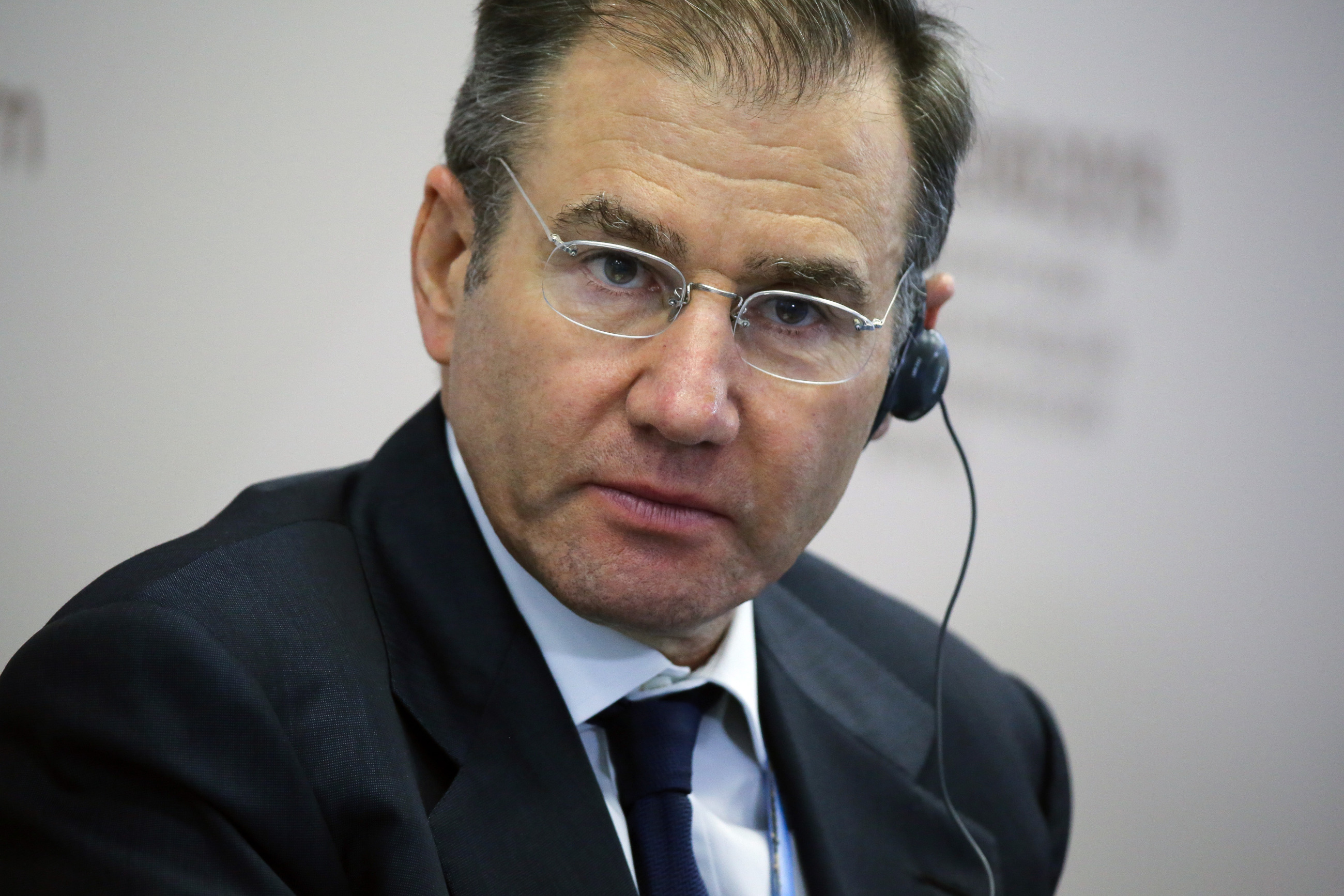 Ivan Glasenberg during a session at the St. Petersburg International Economic Forum on June 19, 2015.