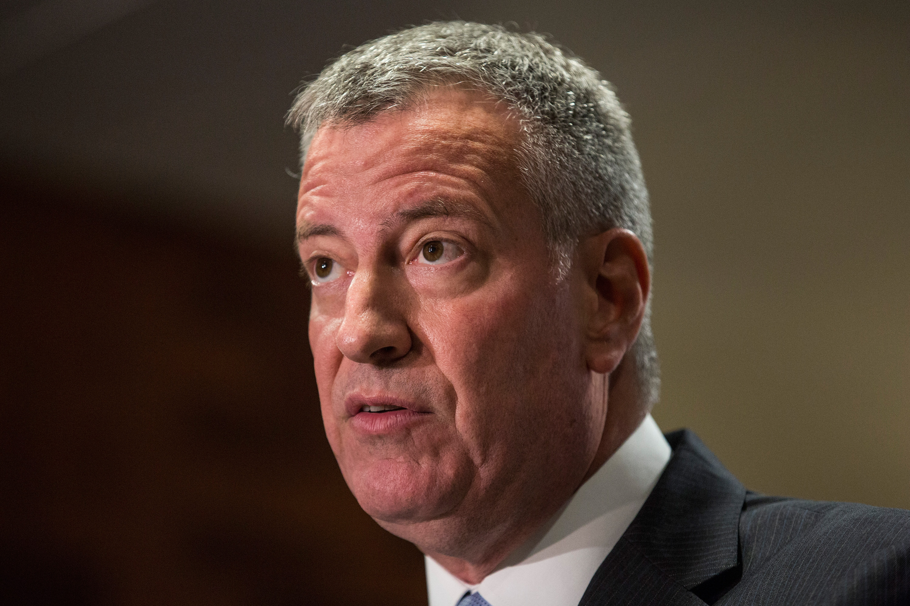 NYC Mayor De Blasio Discusses Legionnaire's Disease Outbreak In The Bronx