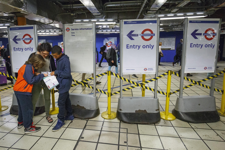 Tube Strike in London