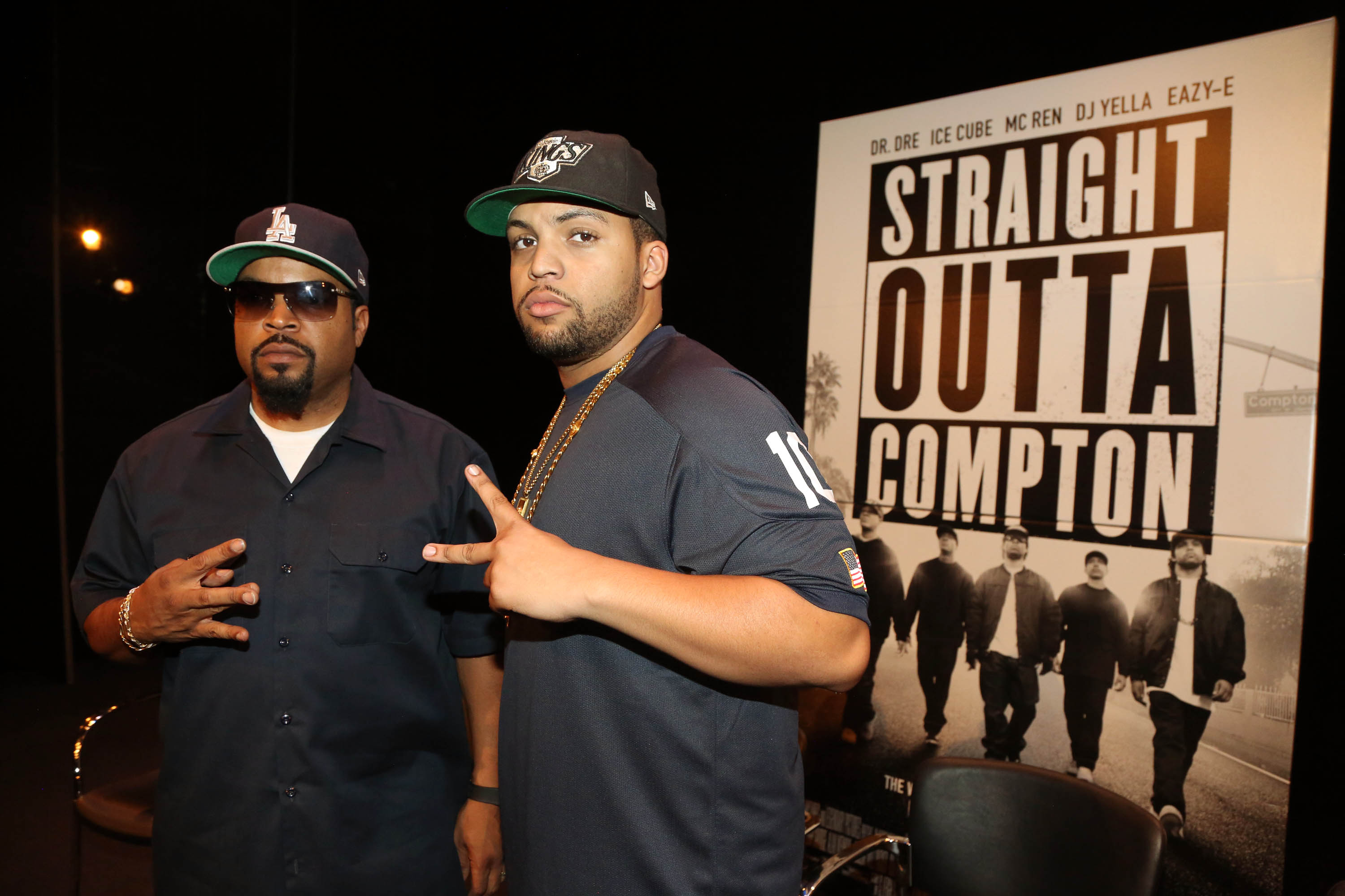 """Straight Outta Compton"" New York Screening"