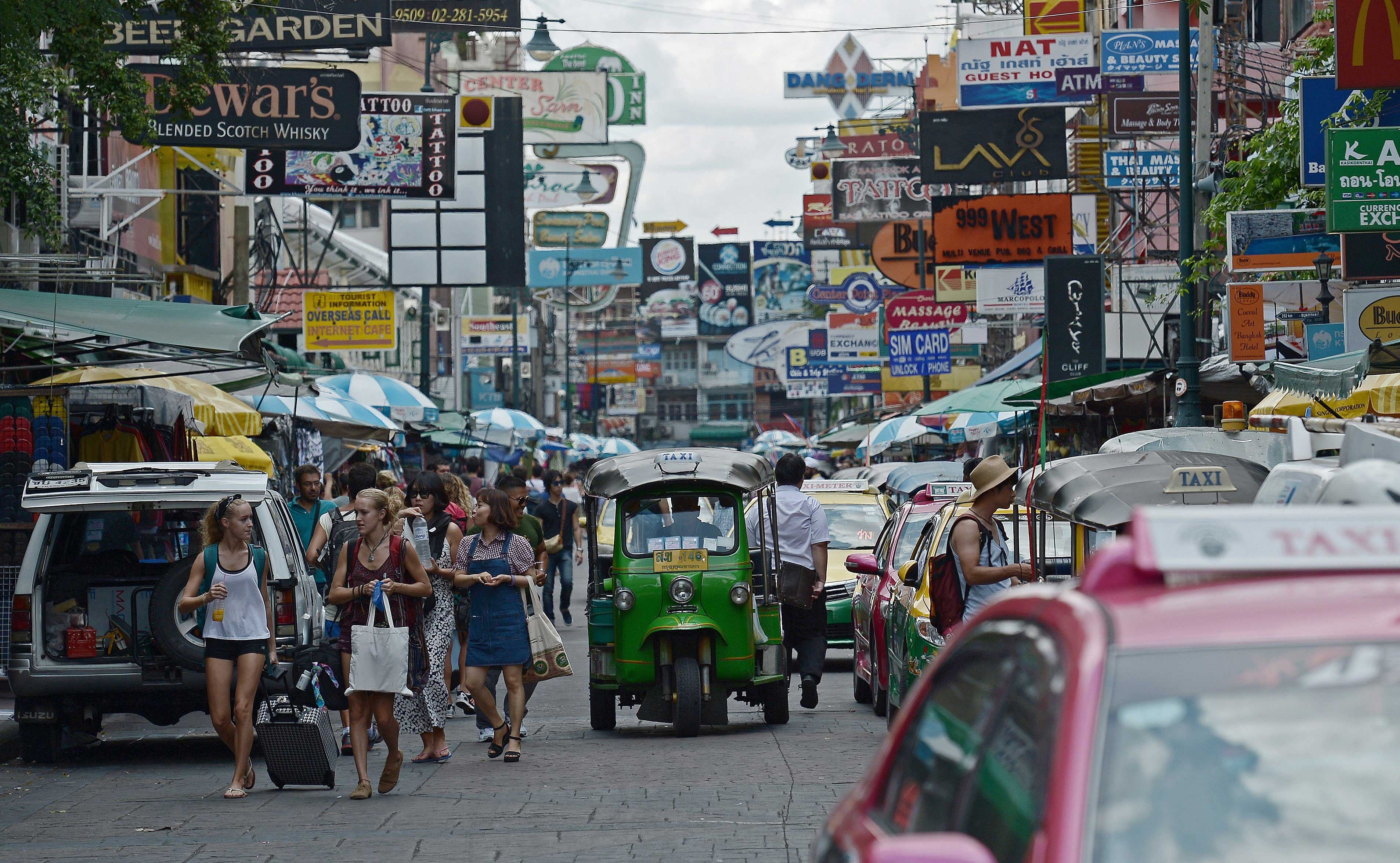 THAILAND-CHINA-UNREST-TOURISM-ECONOMY