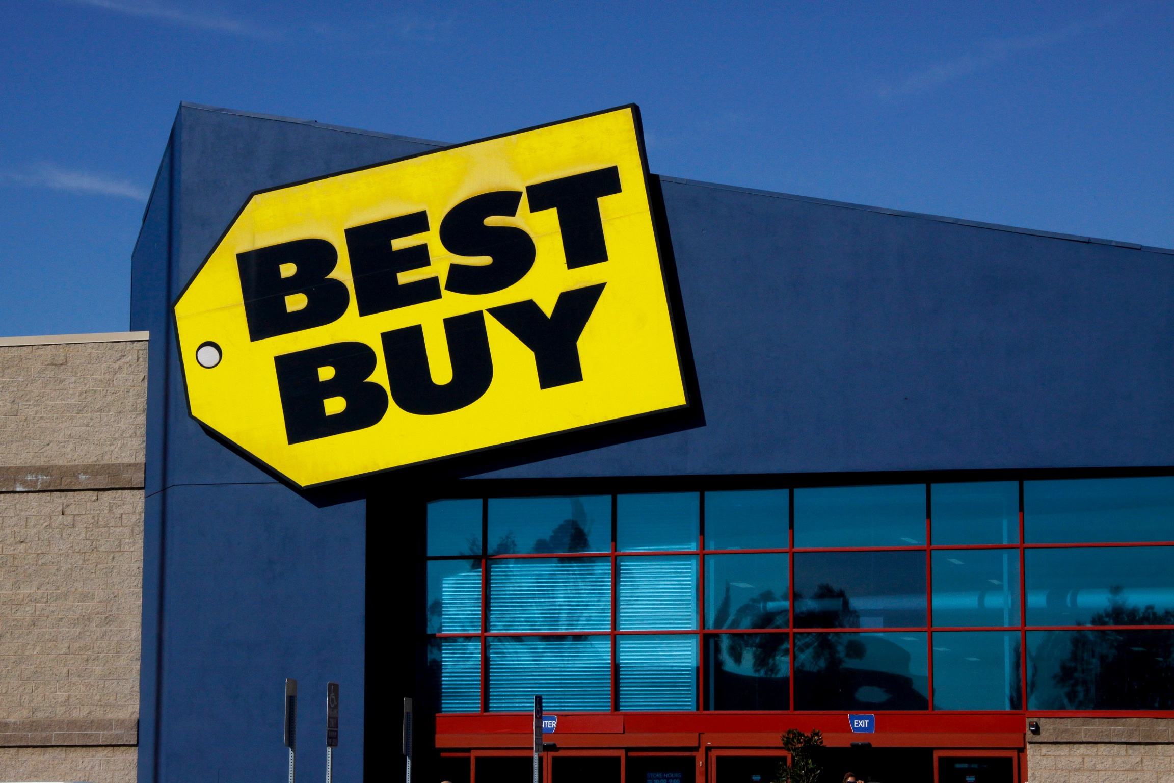 A Best Buy store in Huntington Beach, CA