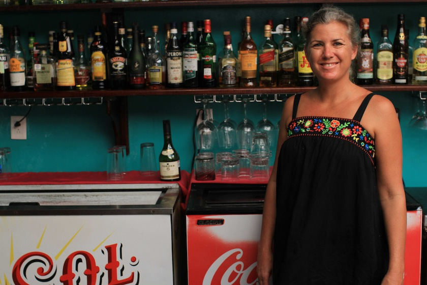 Jennifer Smith, co- owner of the Turtle Bay Café