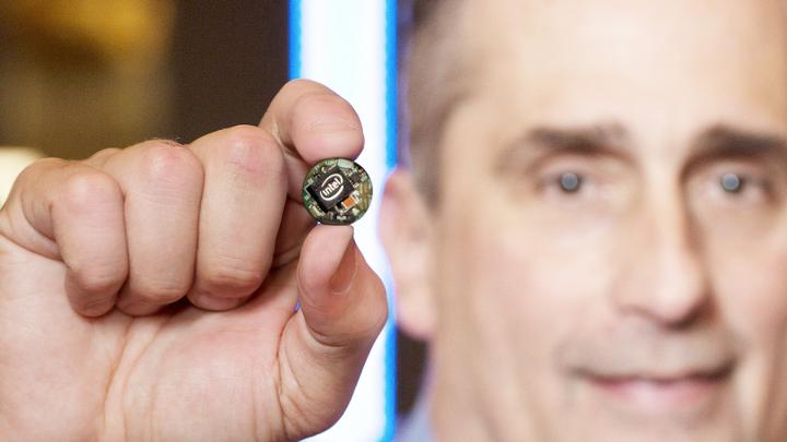 Intel's Curie module for wearables.