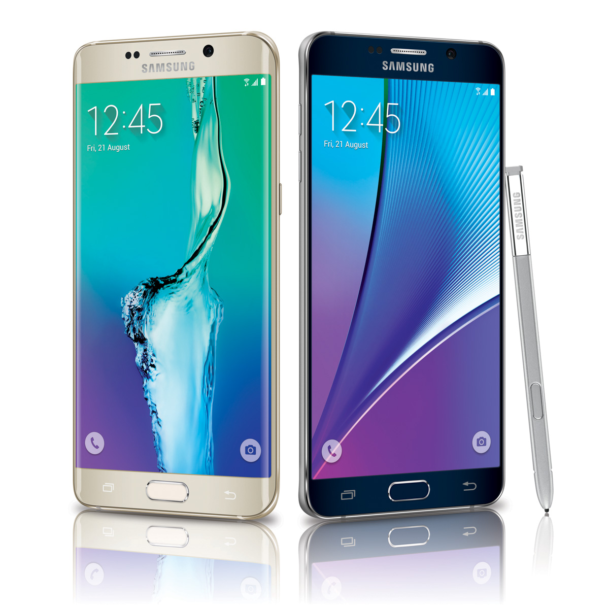 The Samsung Galaxy S6 Edge+ and Galaxy Note 5 launches August 21, 2015