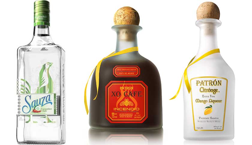 Some of the newest tequila-based flavored liqueurs hitting liquor shelves.