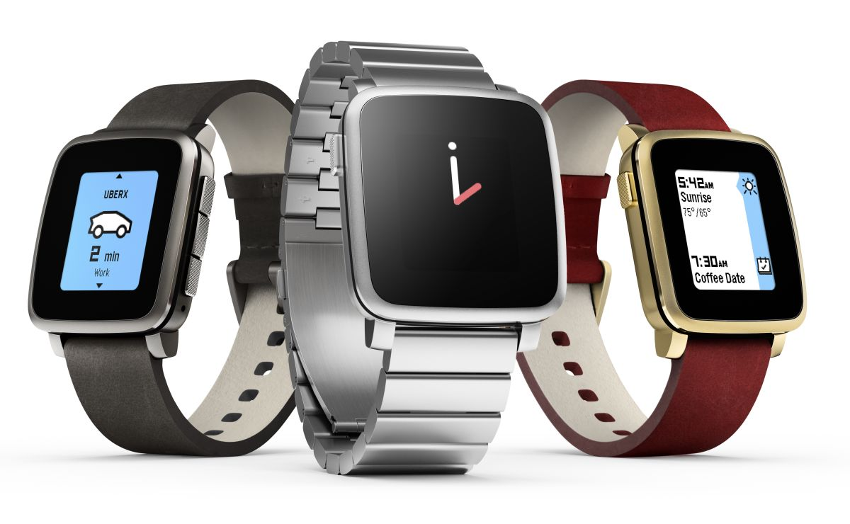The Pebble Time lineup broke crowdfunding records on Kickstarter when it launched early this year.