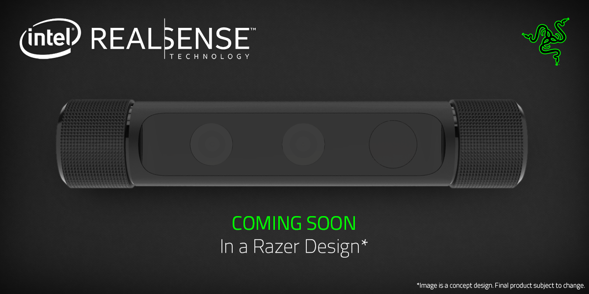 Razer is developing a new VR camera with Intel RealSense technology.