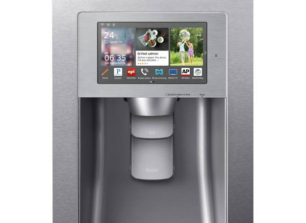 A connected fridge from Samsung.