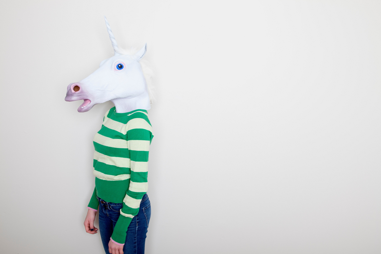 This unicorn is lonely.