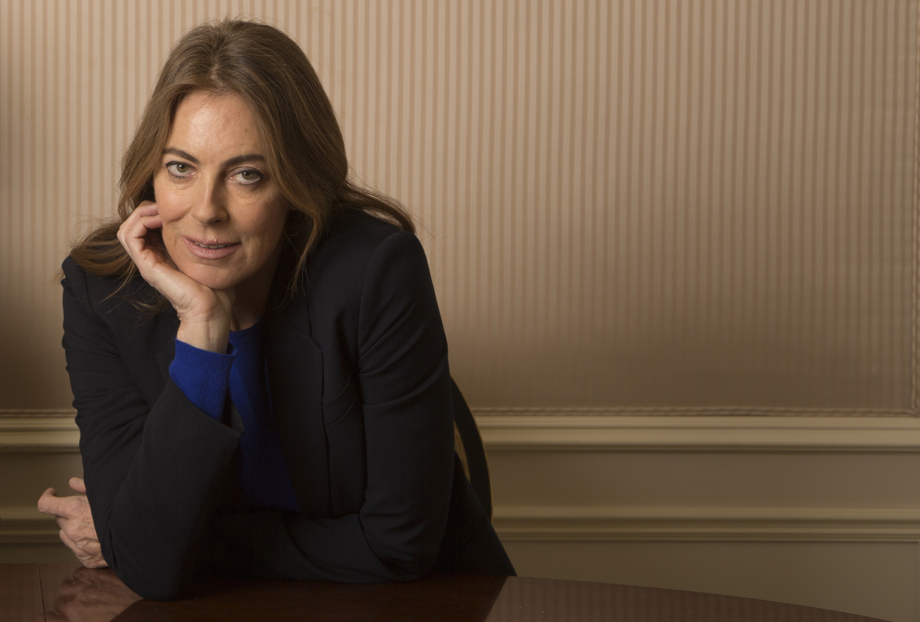 Director Kathryn Bigelow poses for her new film 'Zero Dark Thirty' in New York