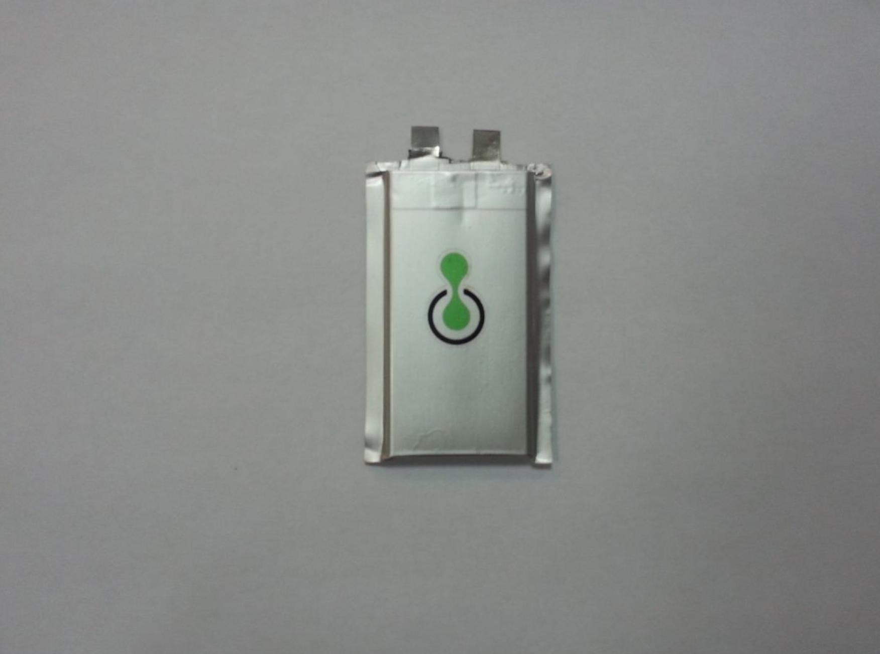 Israeli startup StoreDot's fast-charging battery.