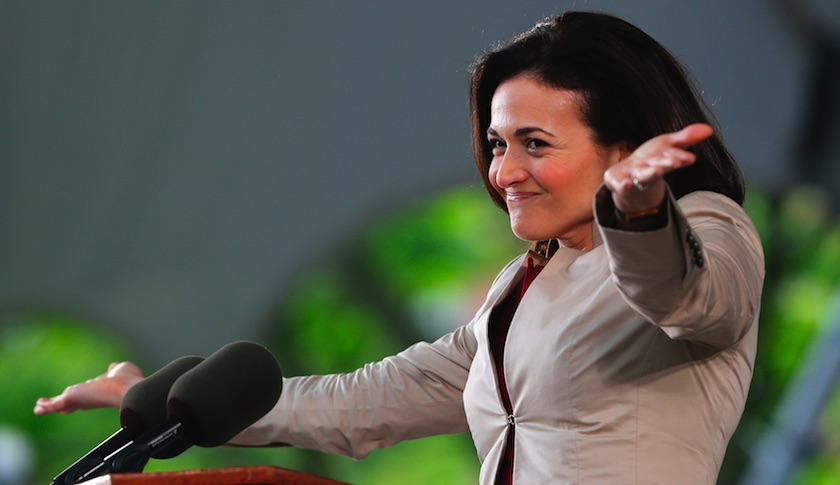 "Sheryl Sandberg, COO of Facebook and author of ""Lean In: Women, Work, and the Will to Lead"""