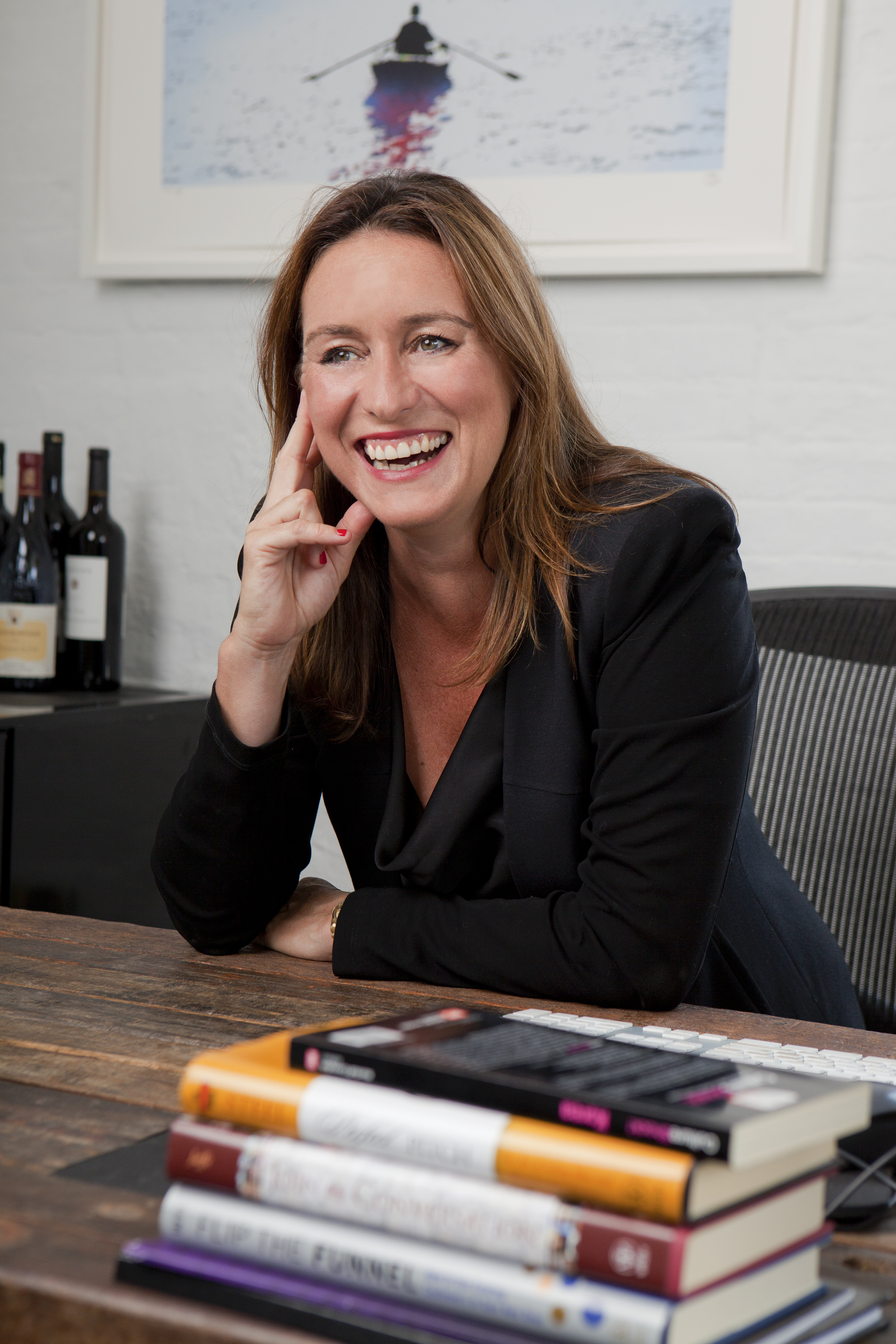 Sophie Kelly, CEO of The Barbarian Group