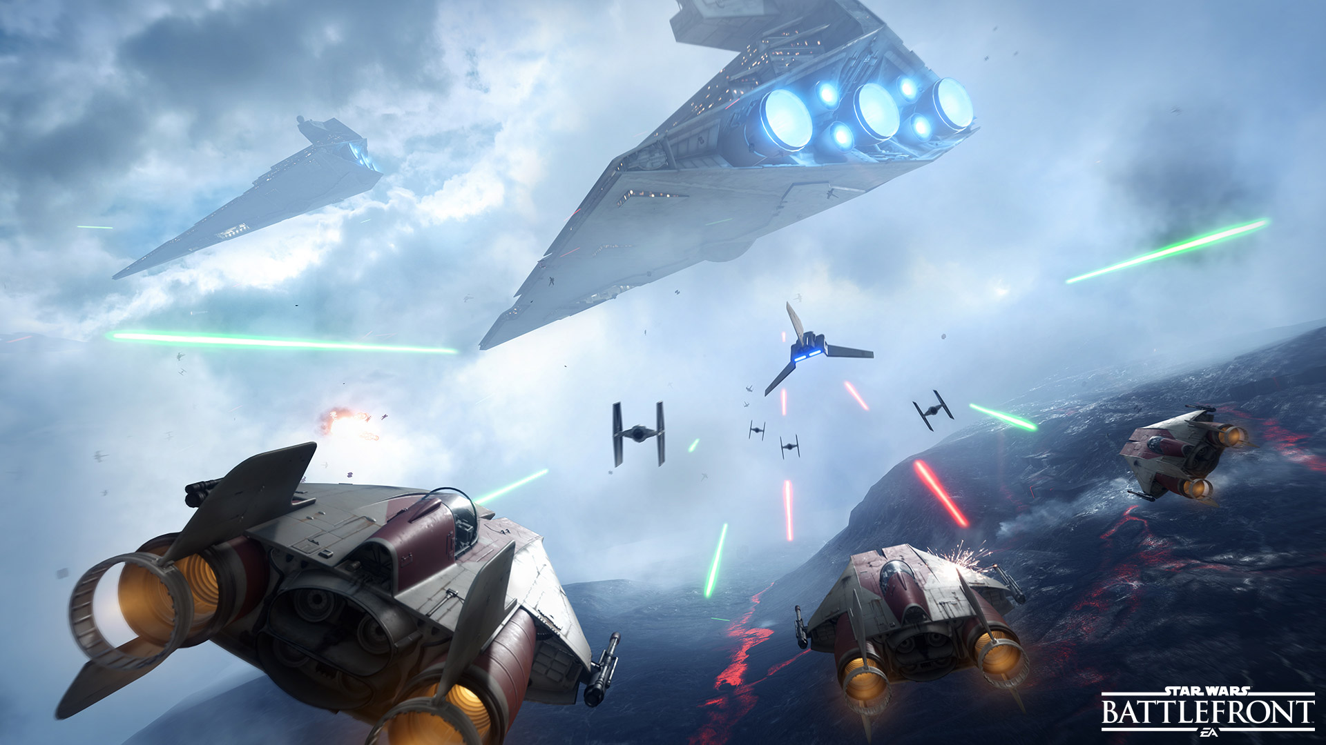 Star Wars Battlefront Fighter Squadron Trailer Released Fortune
