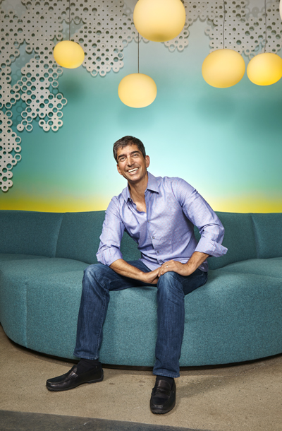 David Lawee, the head of Google Capital, at the fund's offices in Mountain View, Calif.