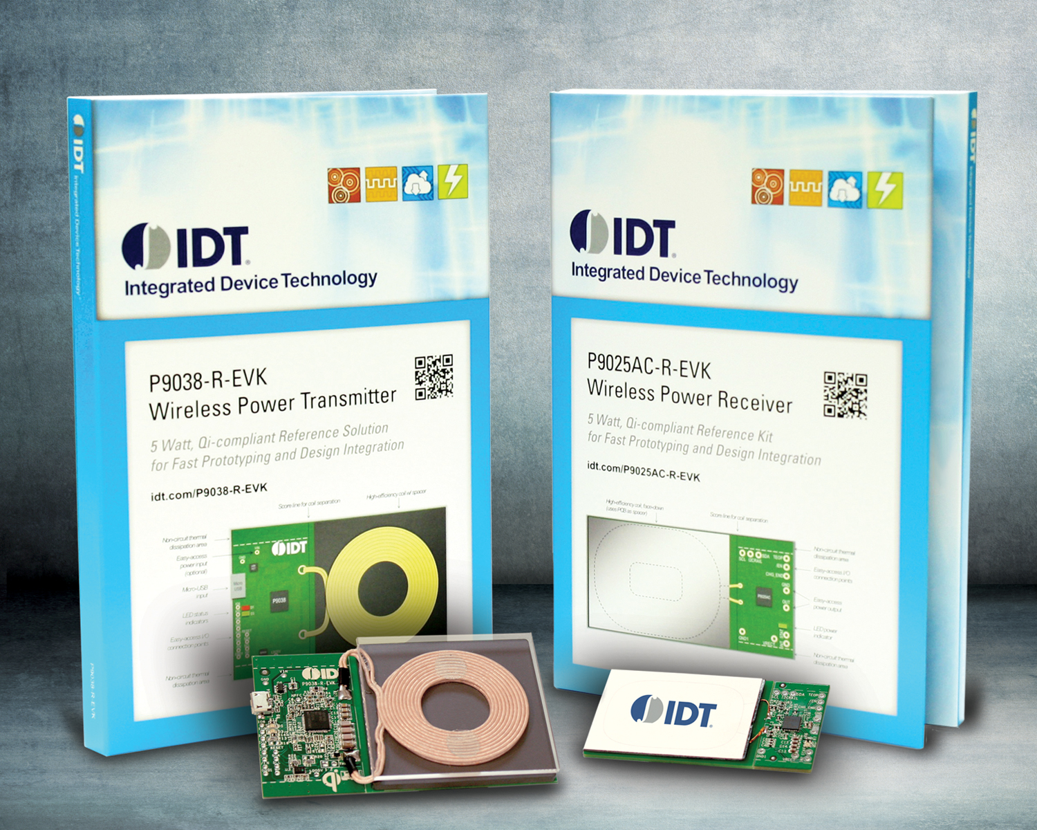 IDT's wireless-charging kit.