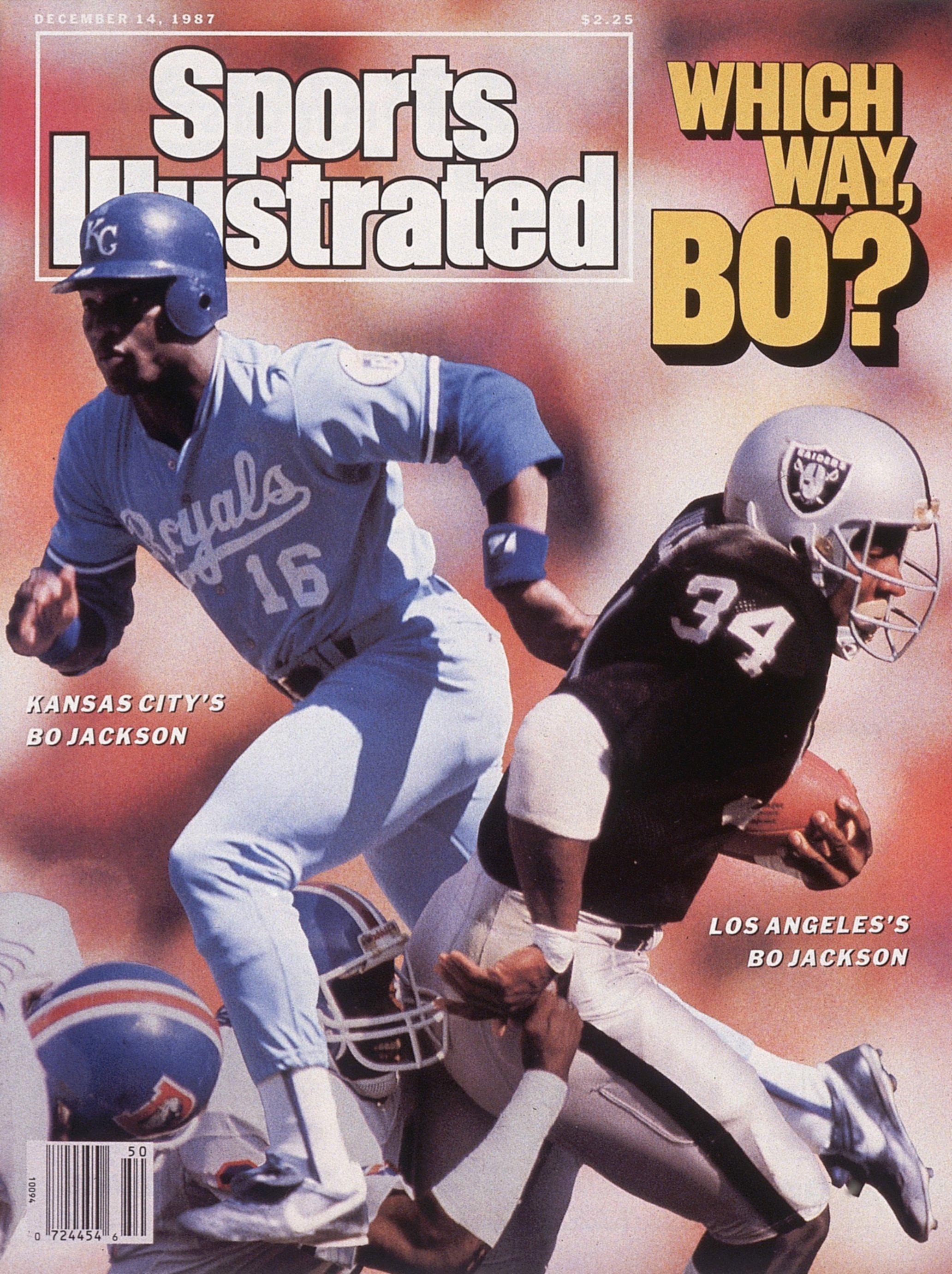Which Way Bo? Bo Jackson of Kansas City Royals and Los Angeles Raiders