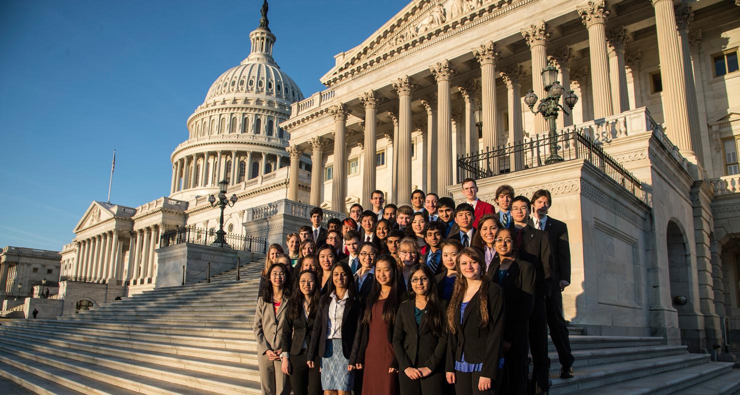 2013 Intel STS finalists on Capitol Hill