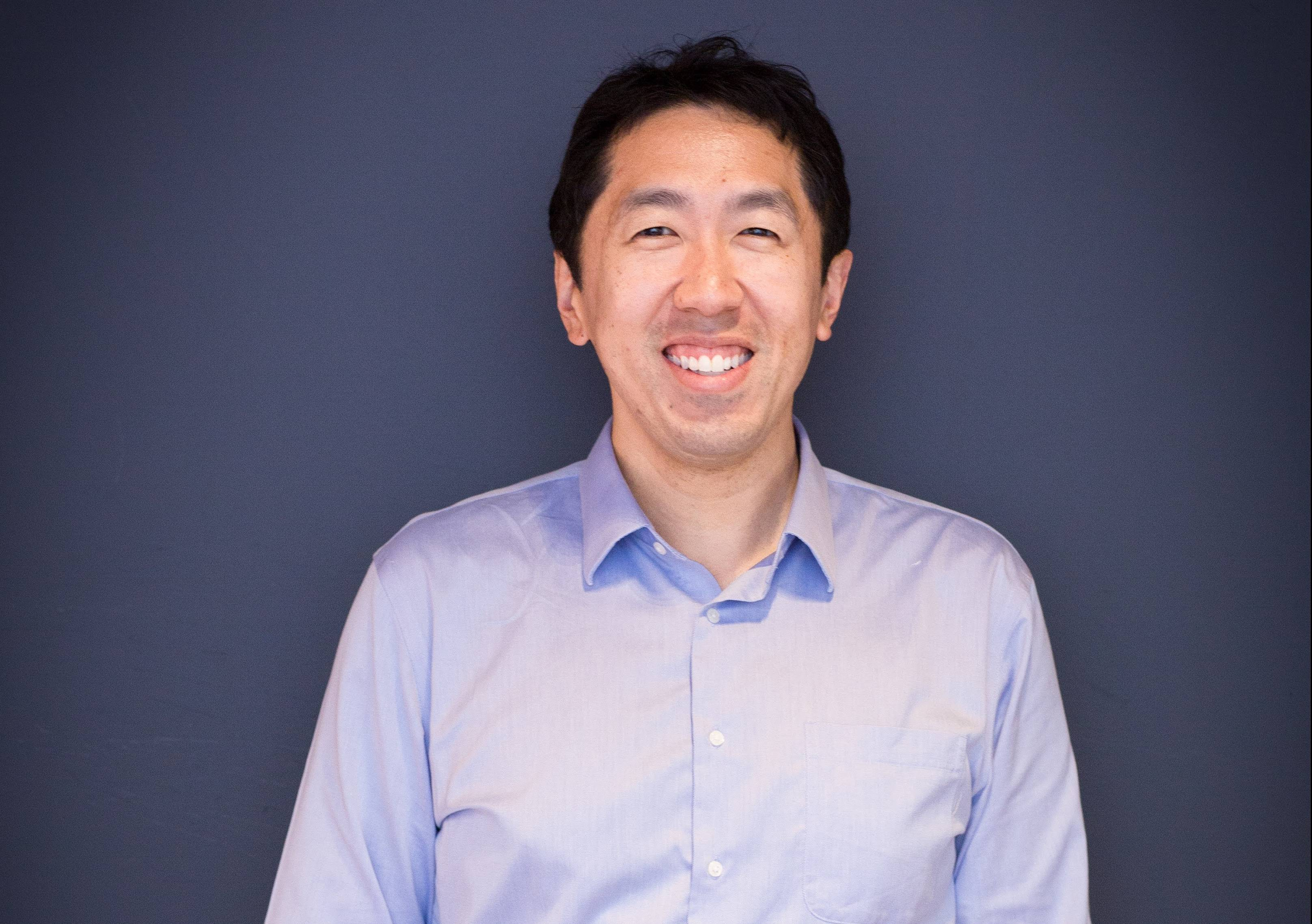 Andrew Ng, Stanford University professor, Baidu research head, and Google Brain co-founder