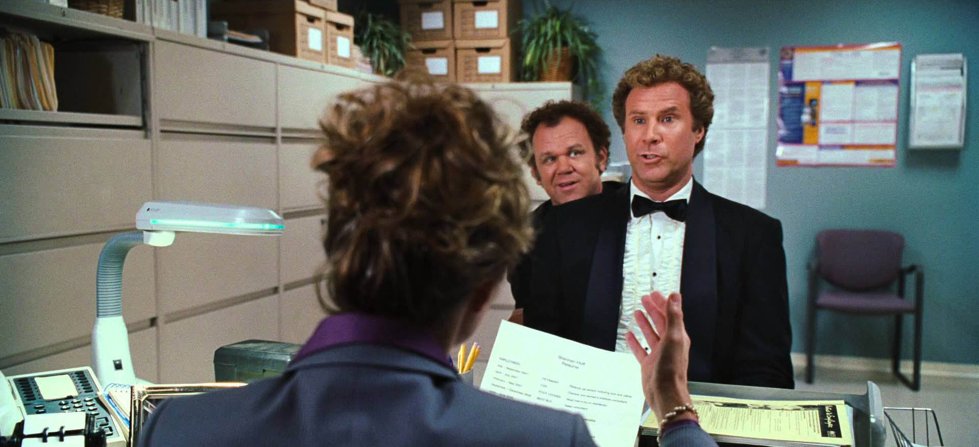 John C. Reilly, left and Will Ferrell in Step Brothers.