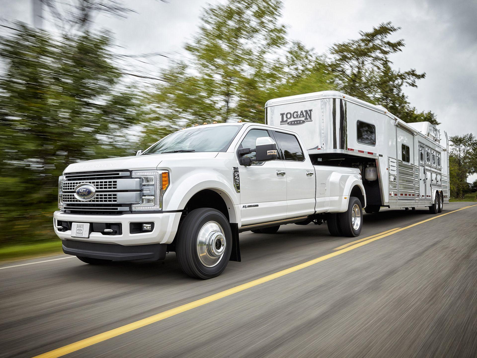 Ford's 2017 F-Series Super Duty truck.