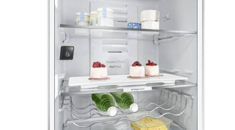 The new Bosch fridge with camera.
