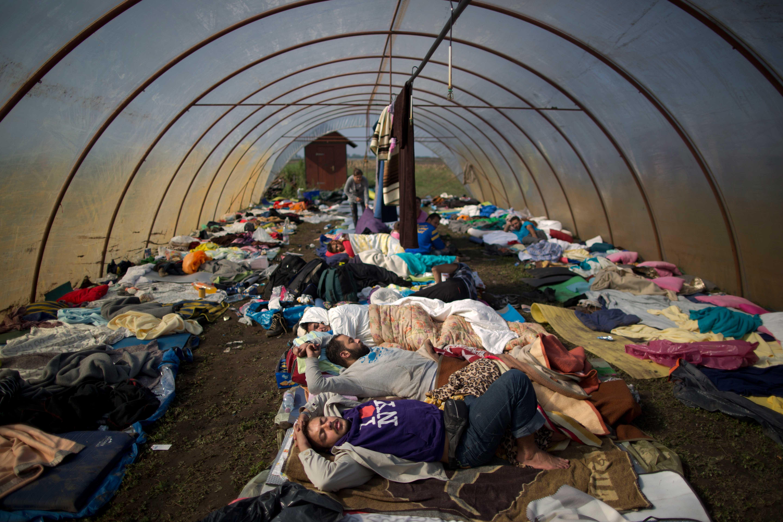 APTOPIX Hungary Migrants