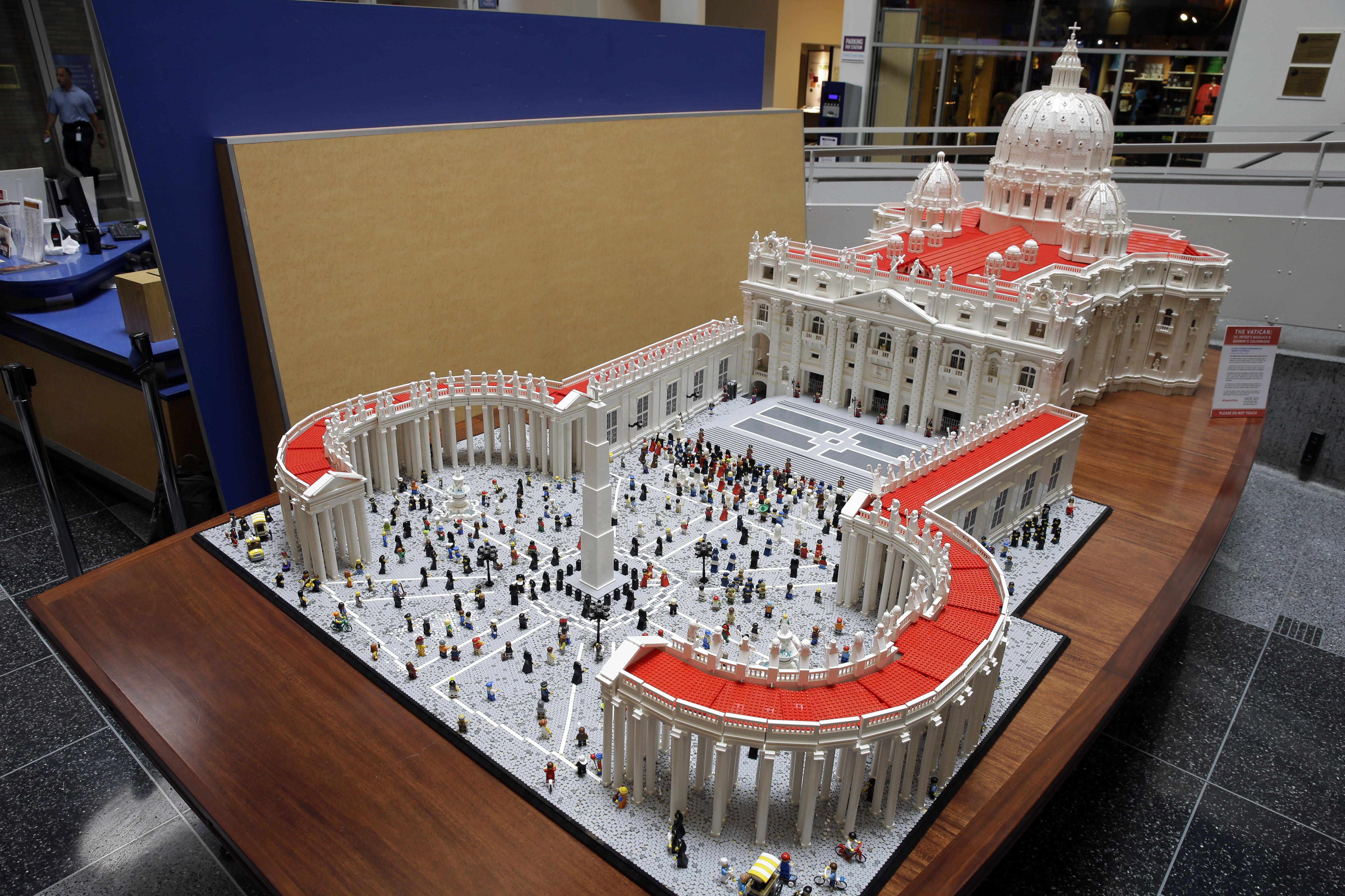 Pope Legos